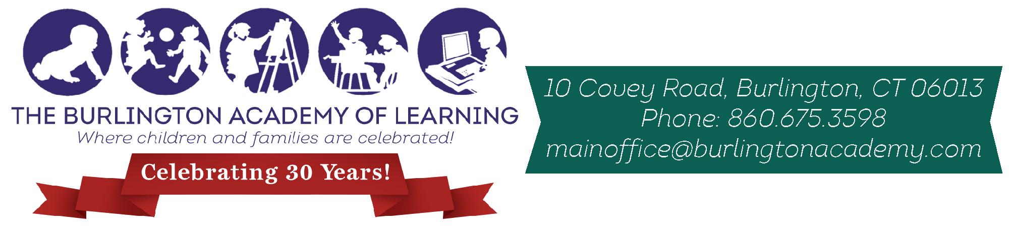 Burlington Academy of Learning Logo